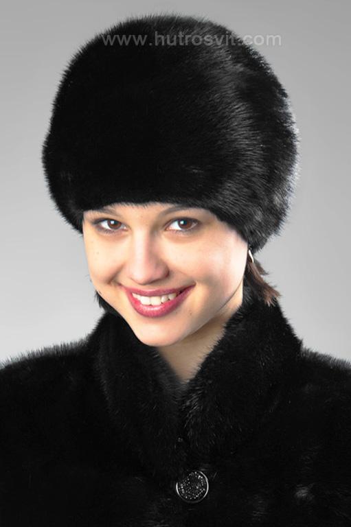 Мода на зимові шапки - хутро норка скандинавська, ціна 1800грн. Фото 1