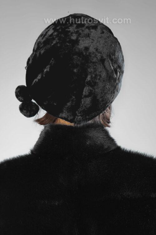 Колекція зимових жіночих шапок з натурального хутра мутон, фото 3