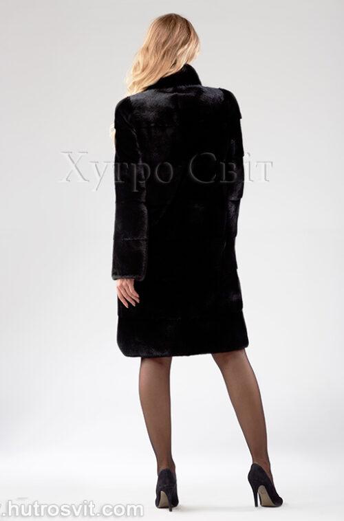 Шуба поперечка из скандинавской норки - одна из самых продаваемых моделей, фото 4