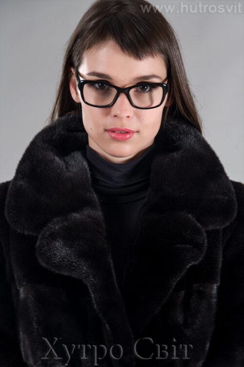 Шубы Блэкглама, модель поперечка с английским воротником.Цены Тисменица, фото 1