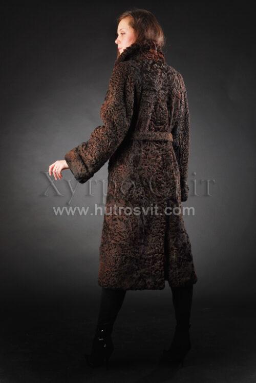 шуба-пальто - мех каракуль, фото 3